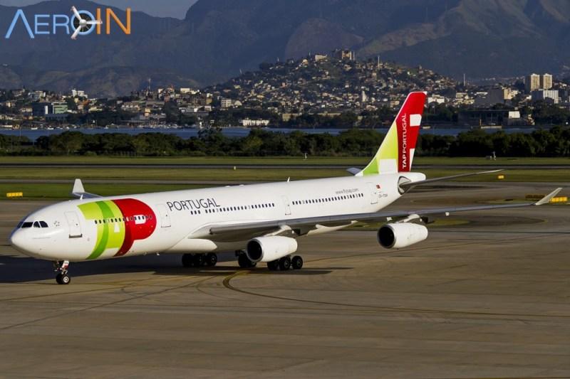 Avião Airbus A340 TAP