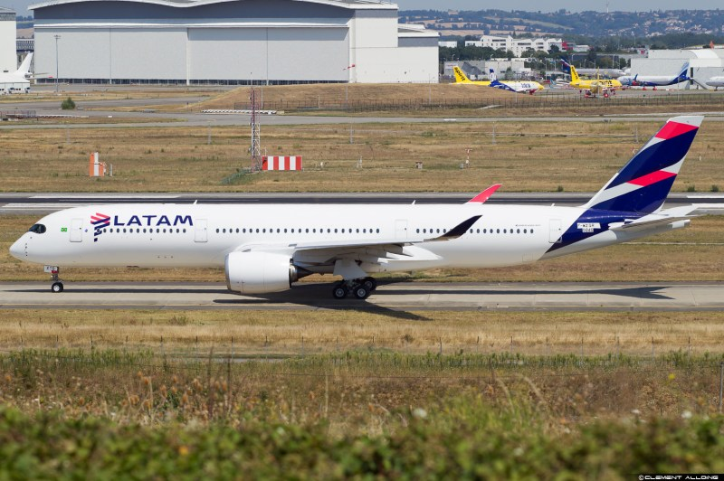 A350 LATAM Clement Alloing