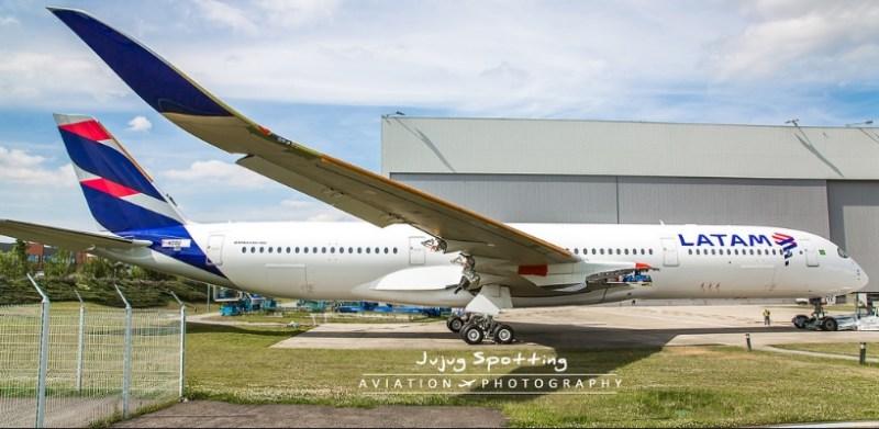 A350 LATAM PR-XTE Jujug