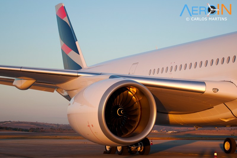 A350 LATAM Rolls Royce Trent