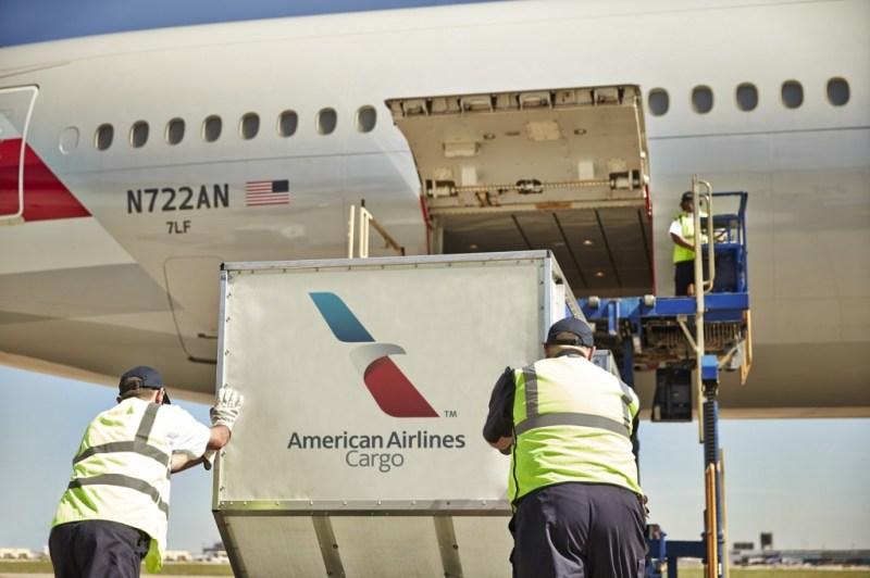 American Airlines Cargo Carga 777