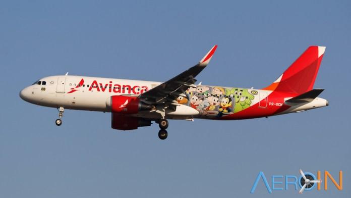Avianca Airbus A320 Mônica