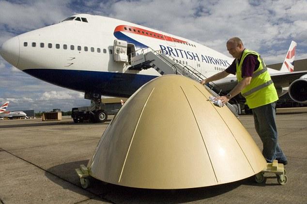 British Airways GOLD 747