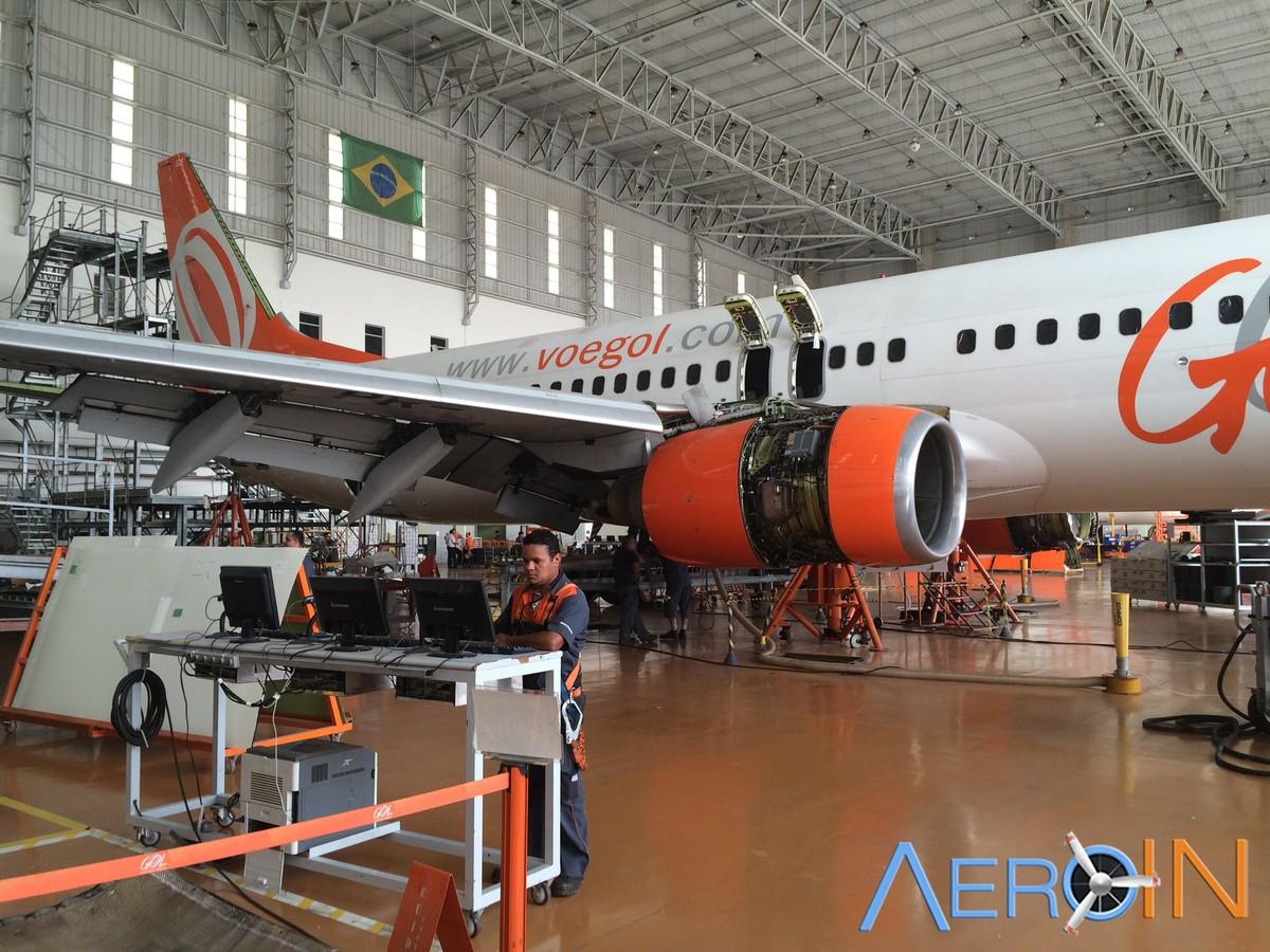 GOL e Air France-KLM ampliam parceria para manutenção de motores.