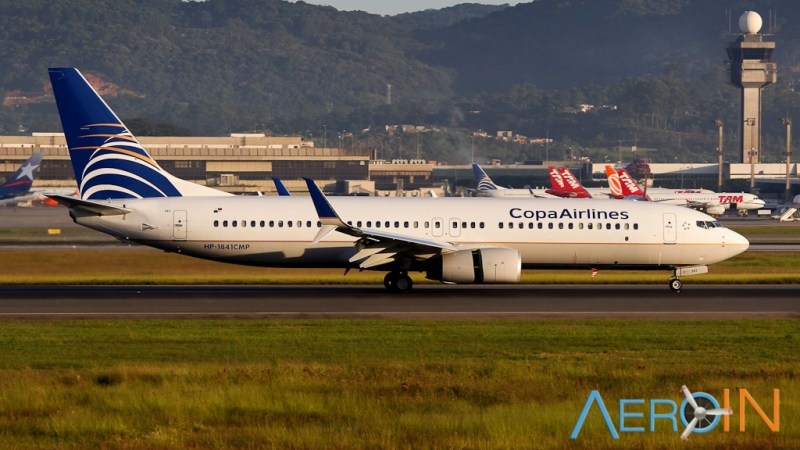 Avião Boeing 737-800 Copa Airlines