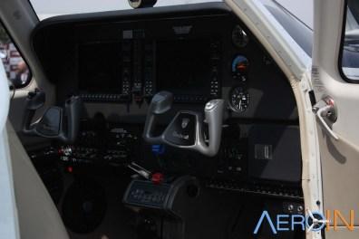 TAM AE apresentou, entre outros, o Beechcraft Bonanza.