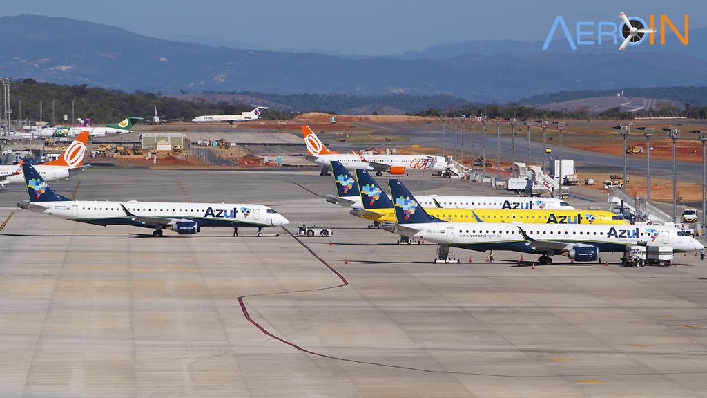 Demanda por transporte aéreo doméstico sobe 2,55% em Maio.