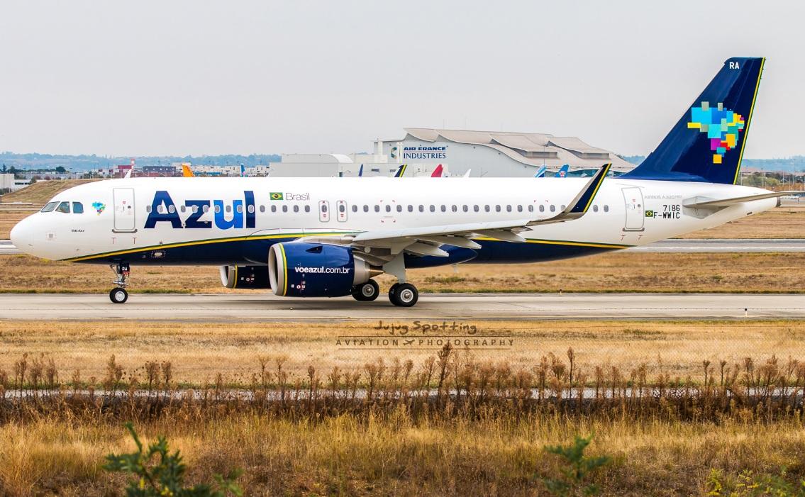 Conheça o interior do A320neo da AZUL Linhas Aéreas Brasileiras.