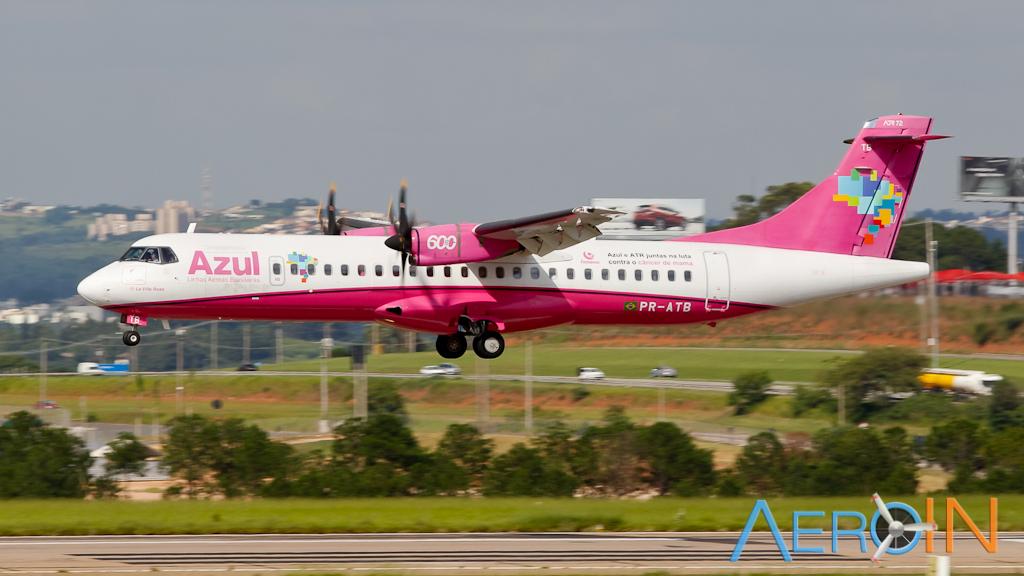 Azul anuncia voos sem escalas entre Barra do Garças e Goiânia.