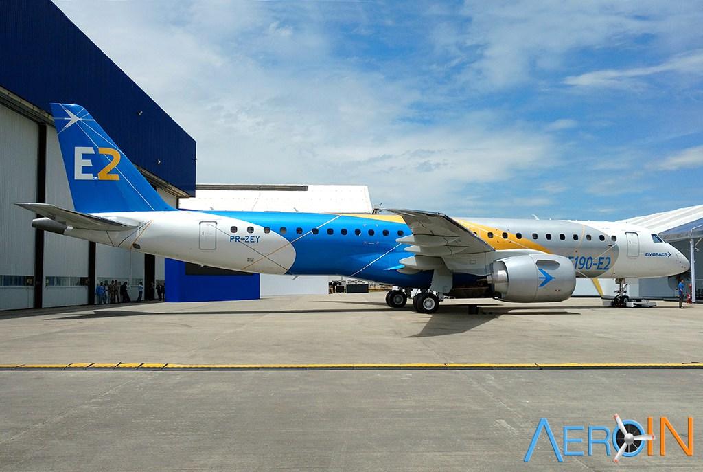 Embraer procura voluntários para ajudar na certificação do E190-E2.