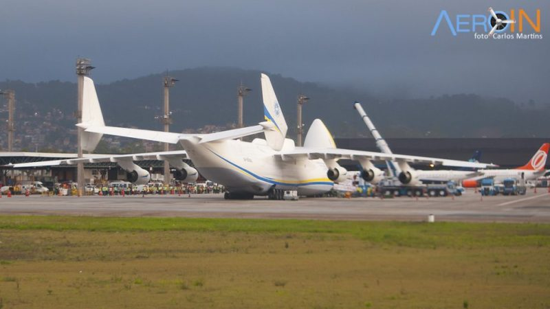 Avião Antonov An-225 Guarulhos