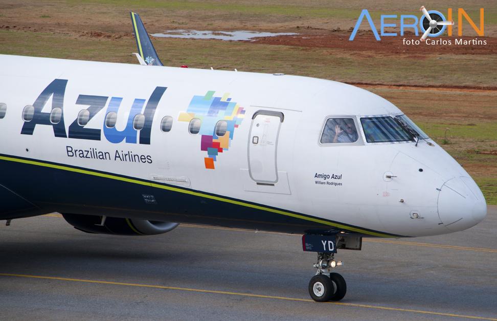 Azul terá novo voo diário entre Belo Horizonte e Vitória.