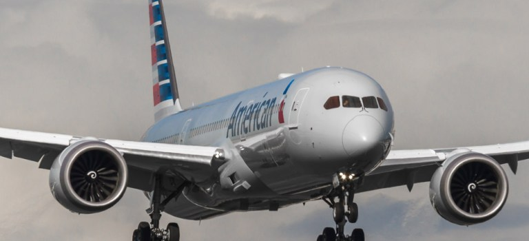 Avião Boeing 787-9 American Airlines