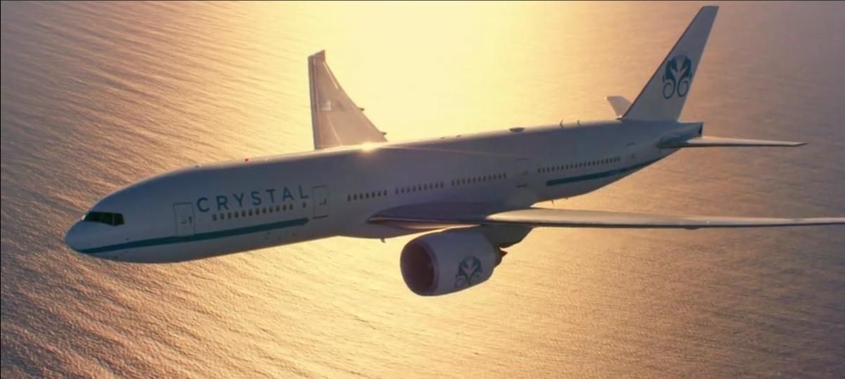 Crystal AirCruises lança tours temáticos mundiais com Boeing 777.