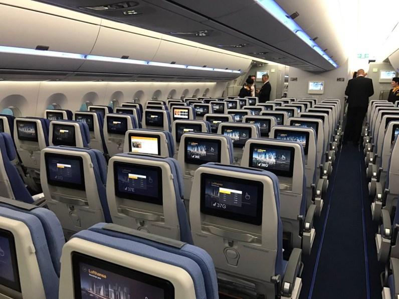 Lufthansa Economy A350 5