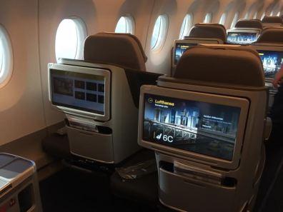 Lufthansa First A350 2