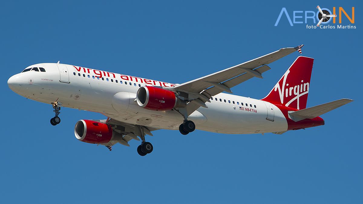 Alaska Airlines anuncia fim da Virgin America.