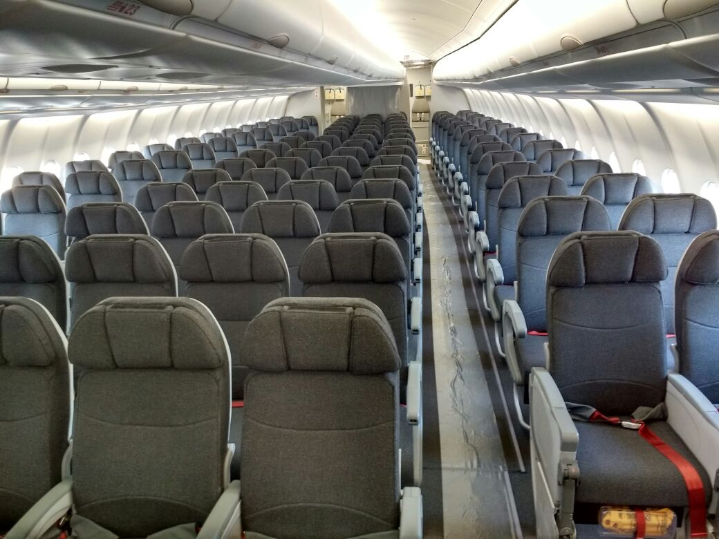 Atualiza o sobre os airbus a330 200 da avianca brasil for Interior 787 avianca