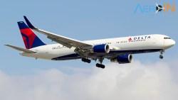 Avião Boeing 767-300 Delta Air Lines