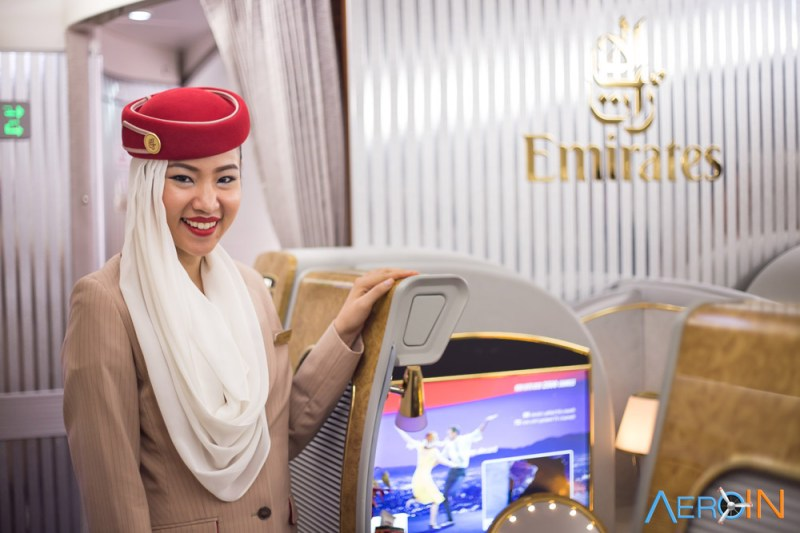 Comissária Emirates
