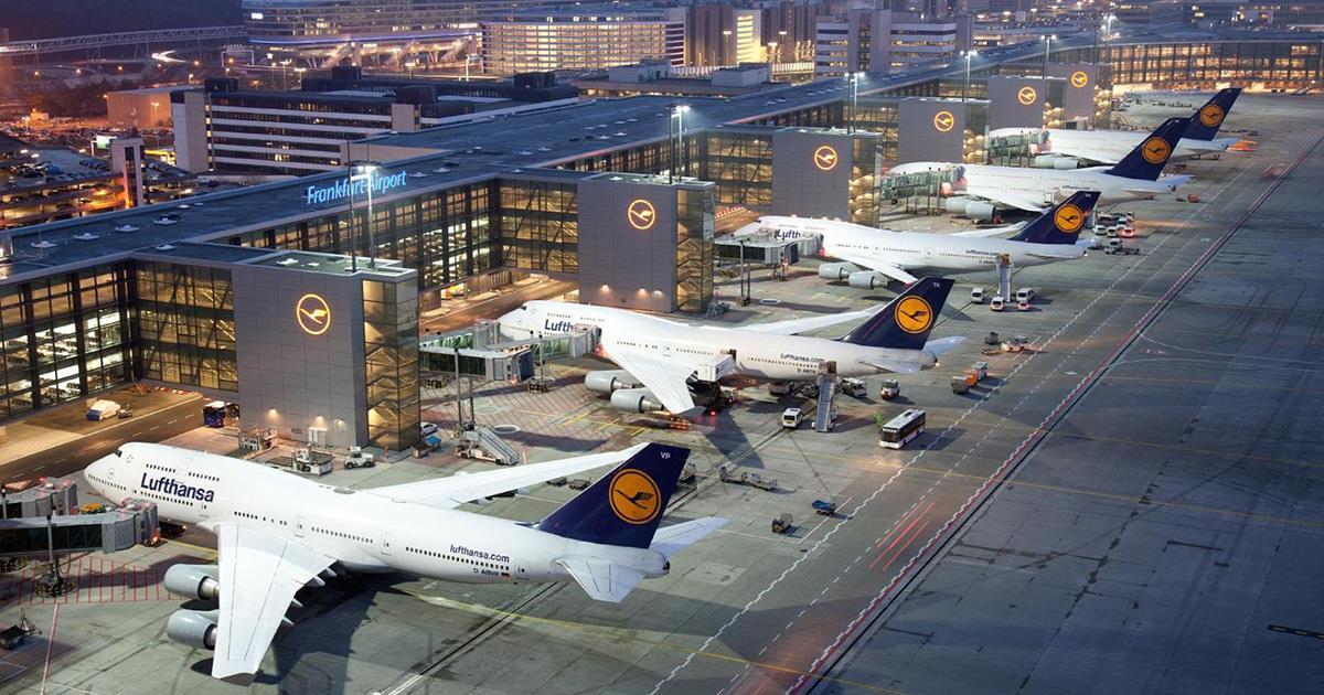 Os 10 melhores aeroportos do mundo em 2017.