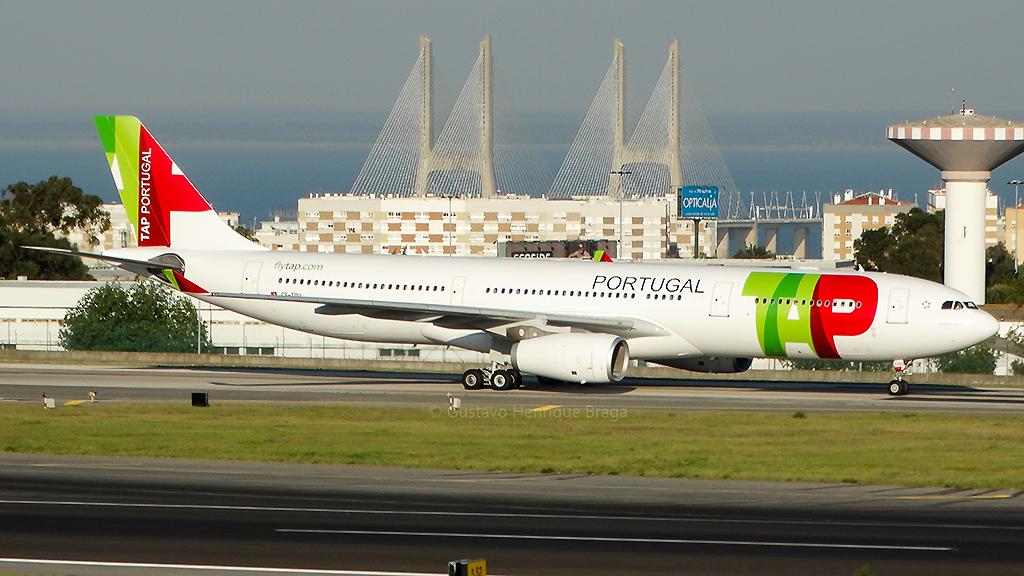 Primeiro A330-300 da TAP Portugal chega a Lisboa.