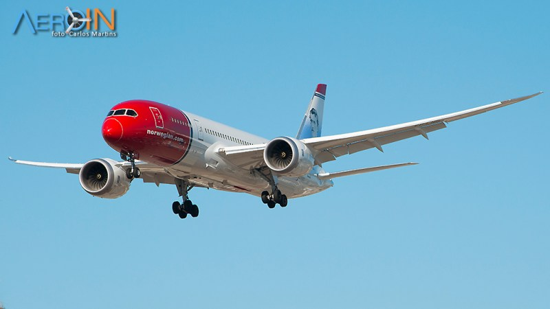 Avião Boeing 787 Dreamliner Norwegian