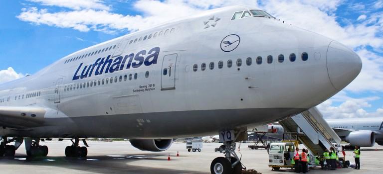 Avião Boeing 747 Lufthansa