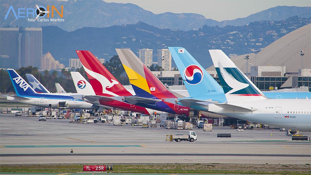 As 100 melhores companhias aéreas do mundo pela Skytrax.