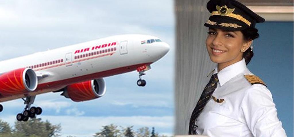 Indiana é a mais jovem comandante de Boeing 777 no mundo.