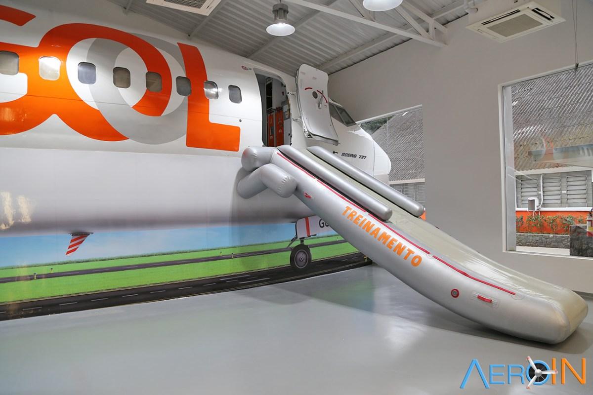 GOL apresenta novo Centro de Treinamento para tripulantes.
