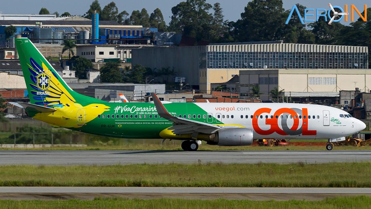 GOL terá 134 voos extras para o feriado da Independência
