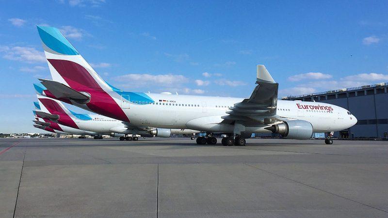 Avião Airbus A330 Eurowings