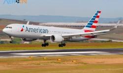 Avião Boeing 767 American