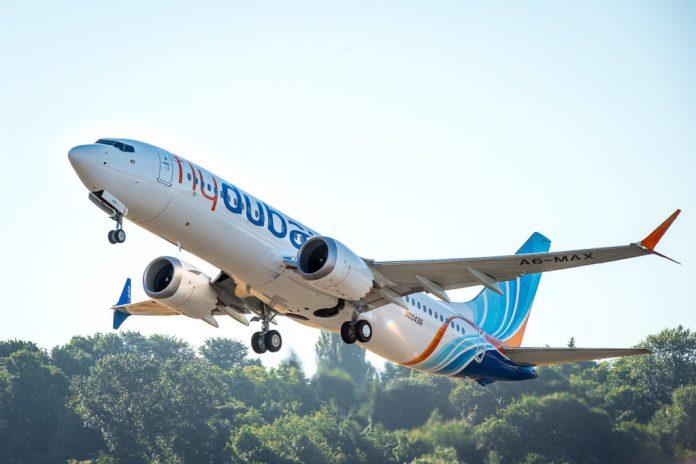 Avião Boeing 737 Flydubai