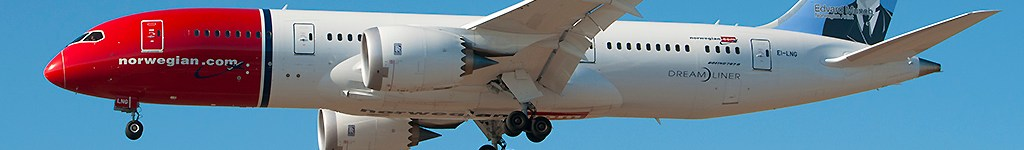 Avião Boeing 787 Norwegian