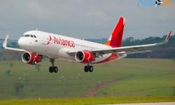 Avião Airbus A320 Avianca