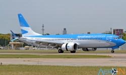 Avião Boeing 737 MAX Aerolíneas Argentinas