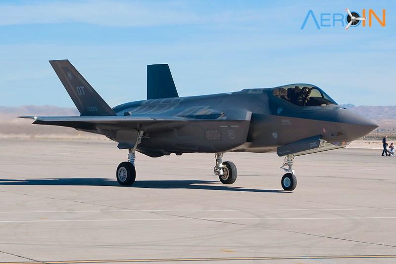 Avião Caça Lockheed Martin F-35 Lightning II