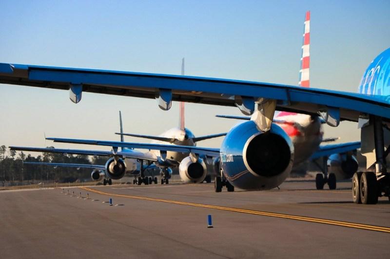 Avião Aeroporto