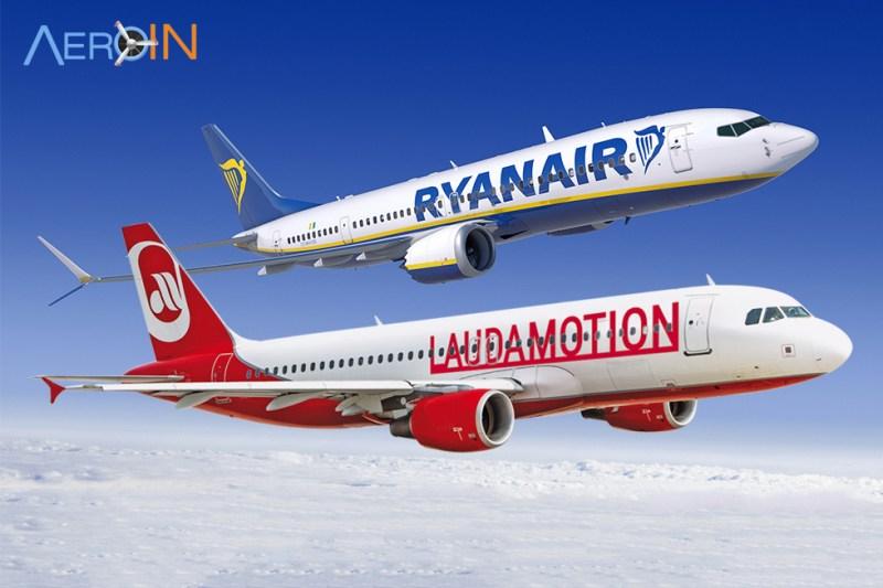 Aviões Ryanair Laudamotion