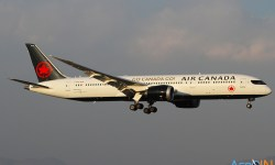 Avião Boeing 787 Air Canada
