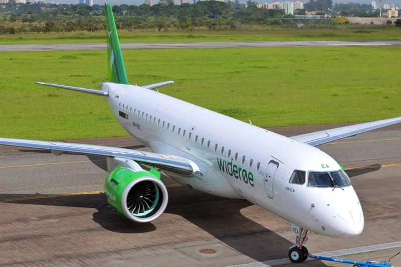 Avião Embraer E190-E2 Wideroe
