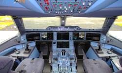 Cockpit Airbus A350