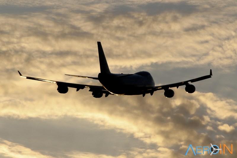 Avião Jumbo Boeing 747 KLM Cargo