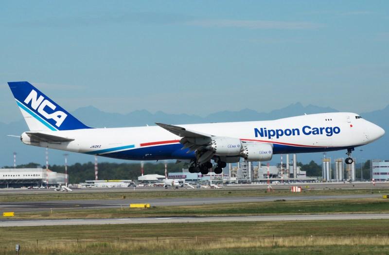 Avião Boeing 747 NCA Nippon Cargo