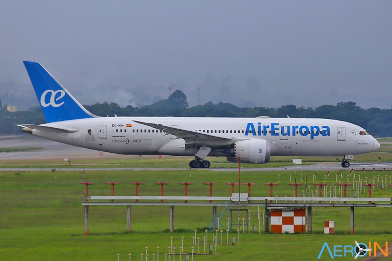 Boeing 787-8 da Air Europa em GRU
