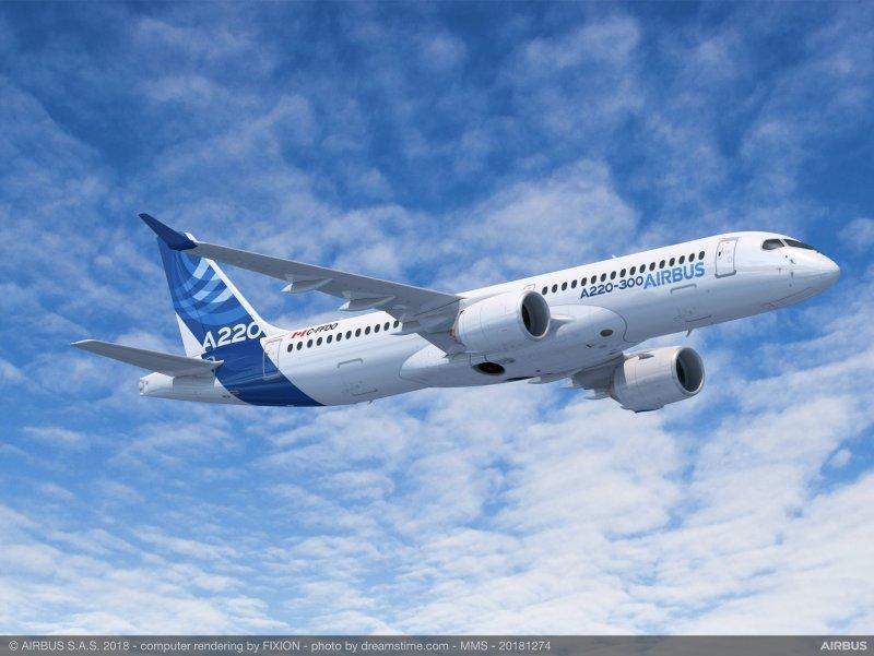 Avião Airbus A220-300