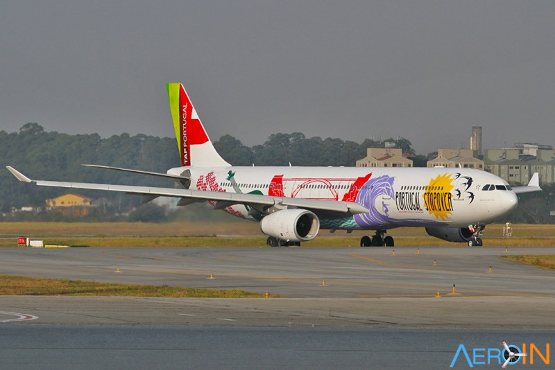 Avião Airbus A330-300 TAP