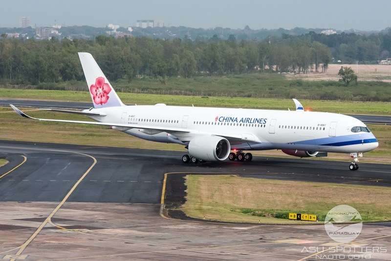 Avião Airbus A350 China Airlines